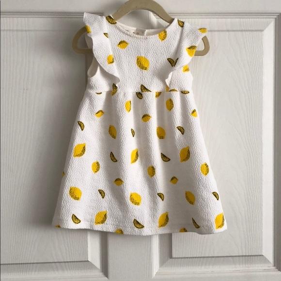 2e75d0ceb1 Zara Kids Lemon Dress. M_5aa7f69d3b1608a200b73c56
